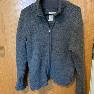 Urban Outfitters grey knit jacket
